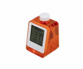 Часы на воде с термометром