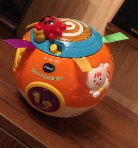 Развивающая музыкальная игрушка мяч vtech