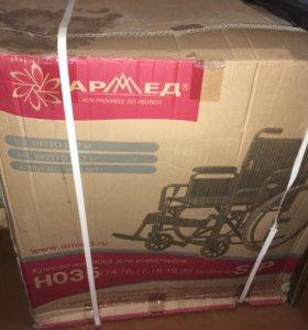 Кресло инвалидное armed h035 новое в коробке