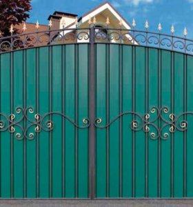 Ворота,калитки,двери входные