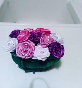 Корзинка с розами.