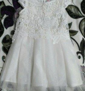 Платье праздничное 4-5 лет
