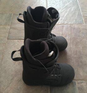 Ботинки сноубордические: Burton Moto