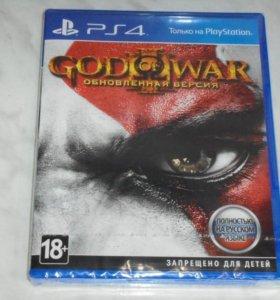 Игра God of war 3 для ps4 (абсолютно новая)