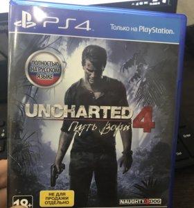 Игра PS4 Uncharted 4