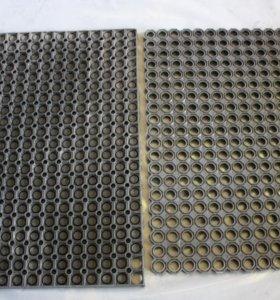 ковры резиновые ячеистые придверные. 80x60 см.