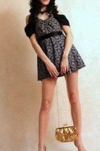 Блузка-платье