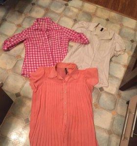 Рубашки и блузка