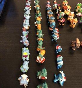 Киндер сюрприз, коллекционные игрушки из 90-х