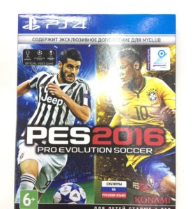 PS4 диск «PES16»