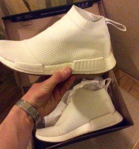 Adidas NMD City Sock 1PK White boost