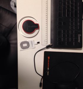 Безпроводная зарядка iphone  + доставка (метро)