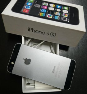 iPhone 5s, Space Gray 32GB