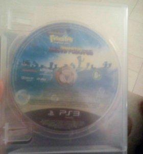 Губка боб. Диск на PS3