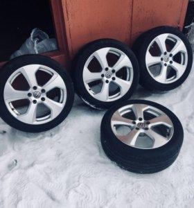 Колёса для VW, Audi, skoda, VAG