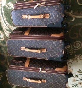 Оригинальные чемоданы от Louis Vuitton