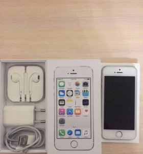 Iphone 5s 16gb silver новый