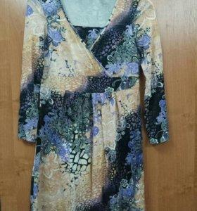 Платье для беременных и кормящих мам. Р. 46-48