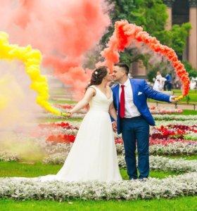 Свадебная фотосессия и крутая видеосъёмка