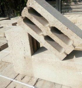 Французский камень - шлакоблок из тырсы