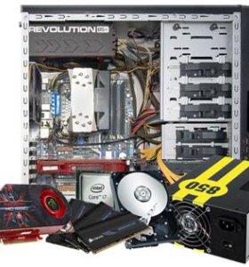 Сборка настройка ремонт компьютеров/комплектующего