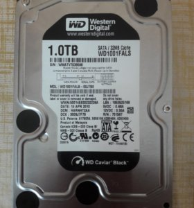 Жёсткий диск Western Digital Caviar Black 1 Tb