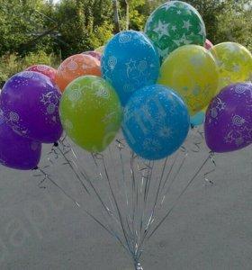 Фольгированные,латексные,шары Баблс