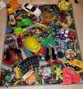 Игрушки пакетом и подарки
