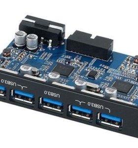 КОНТРОЛЛЕР- ХАБ USB 3.0