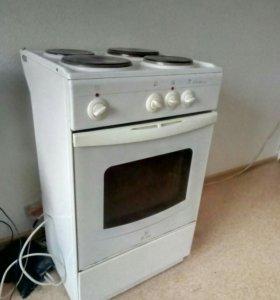 Электрическая плита, б/у.