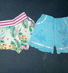 шорты и юбка на 2 года