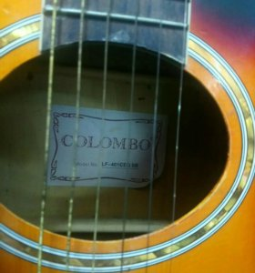 Акустичекая гитара colombo LF401