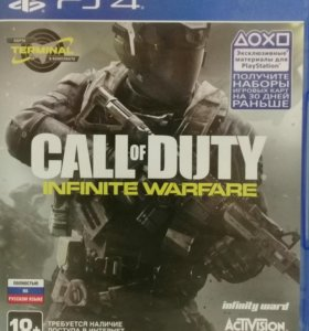 Игра для ps4 CoD: infinity warfare