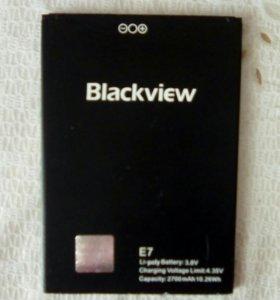 Аккумулятор на смартфон blackview e7
