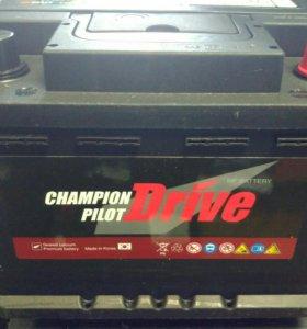 Аккумулятор Champion Pilot Drive 60ач 600а (Корея)