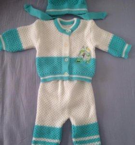 Детские костюмы вязаный