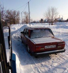 ВАЗ (Lada) 2107, 1991