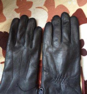 Перчатки,кожа