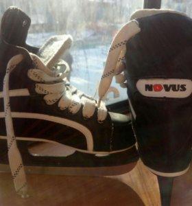 коньки хоккейные NOVUS