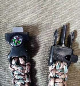 Походный браслет из паракорда