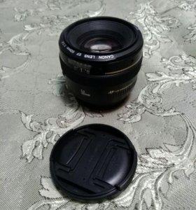 Canon 50 mm 1.4 usm объектив