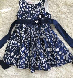Платье на девочку рост 104