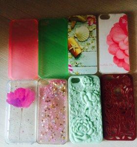 Чехлы для iPhone 5,5s,5c