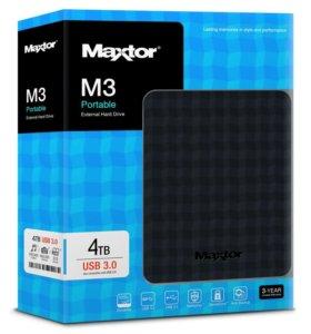Портативный жесткий диск Maxtor 500Gb (новый)