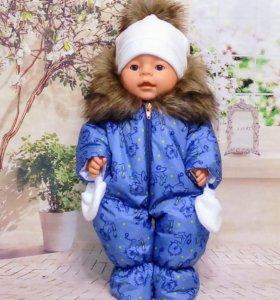 Зимний комбинезон для Беби Бон.