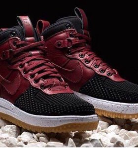 Nike Lunar Force 1 Duckboot Red