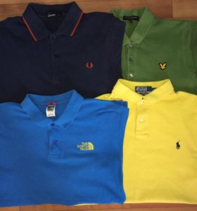 Fred Perry,Lyle&Scott,The North Face,Ralph Lauren