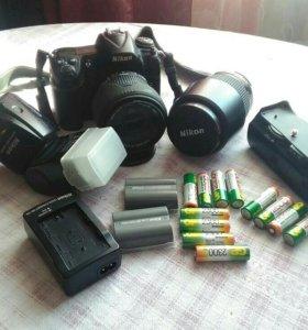Зеркальная камера  Nikon d300s Комплект полный
