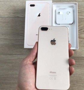 iPhone 8 Plus 64gb практически новый