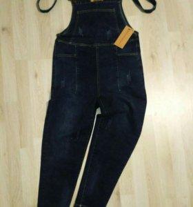 Комбинезон новый джинс